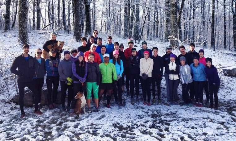 the runWild crew at beaman park. *photo courtesy of alicia hunker