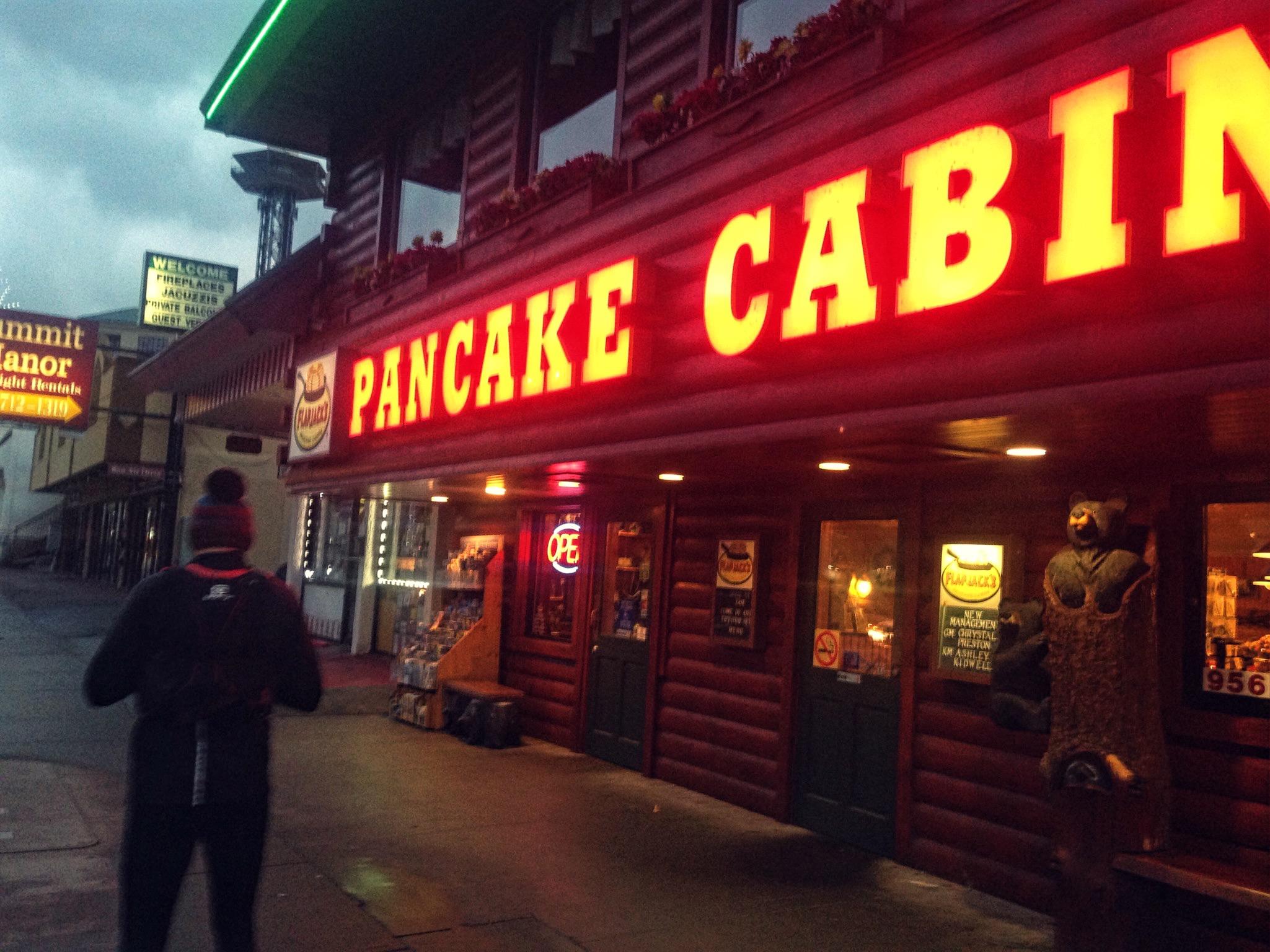 Pancakes to Poker. Photo cred: Jeff Davis