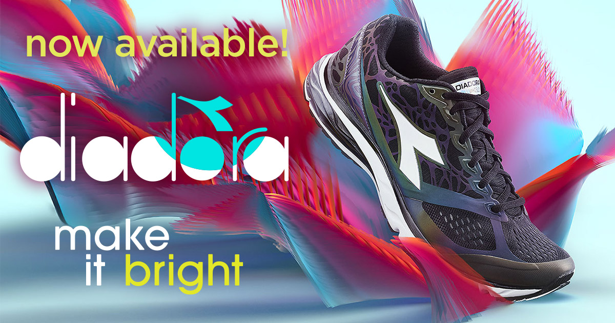 We now carry Diadora!