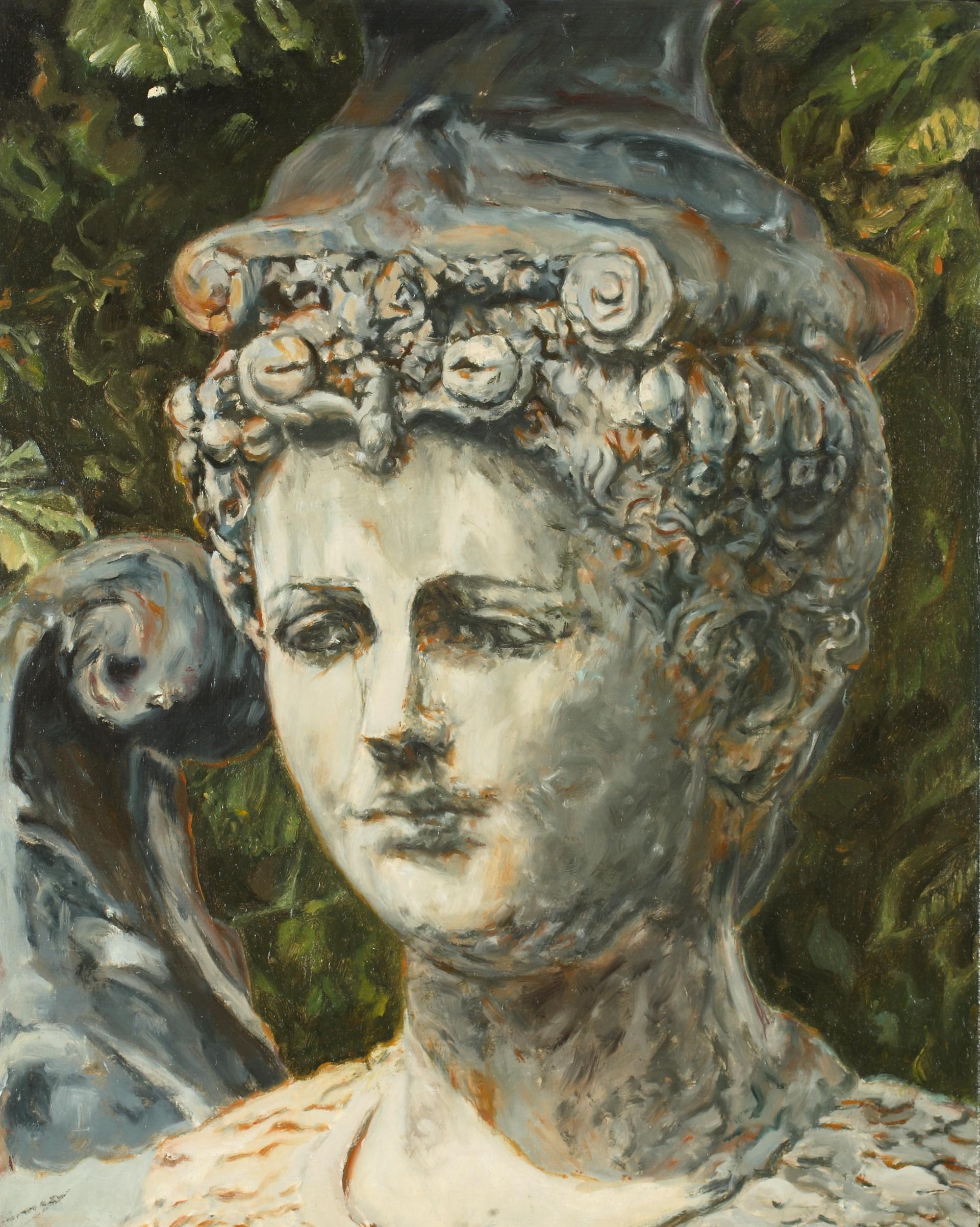 Ornamental Stone Head