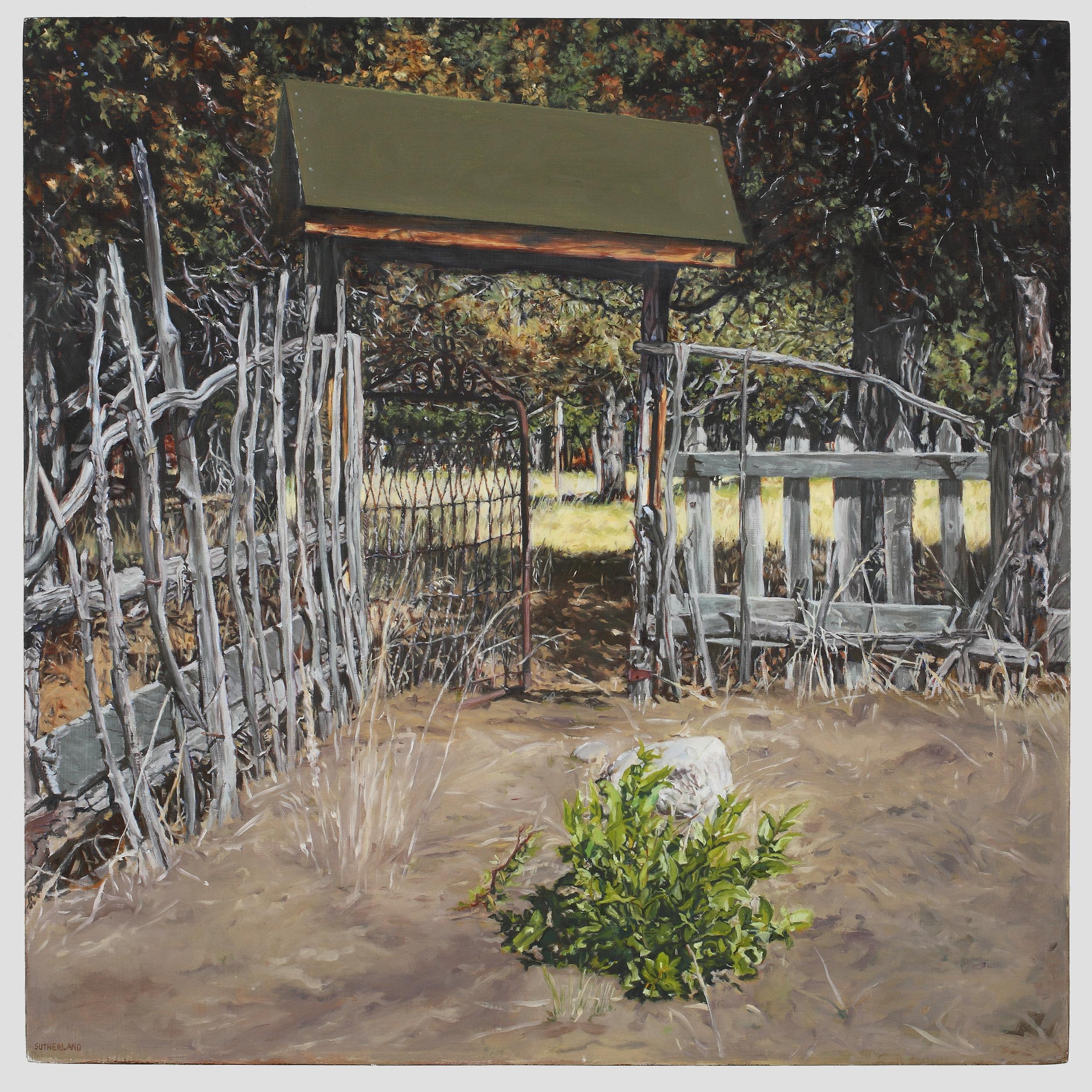 Fence in Crestone Colorado
