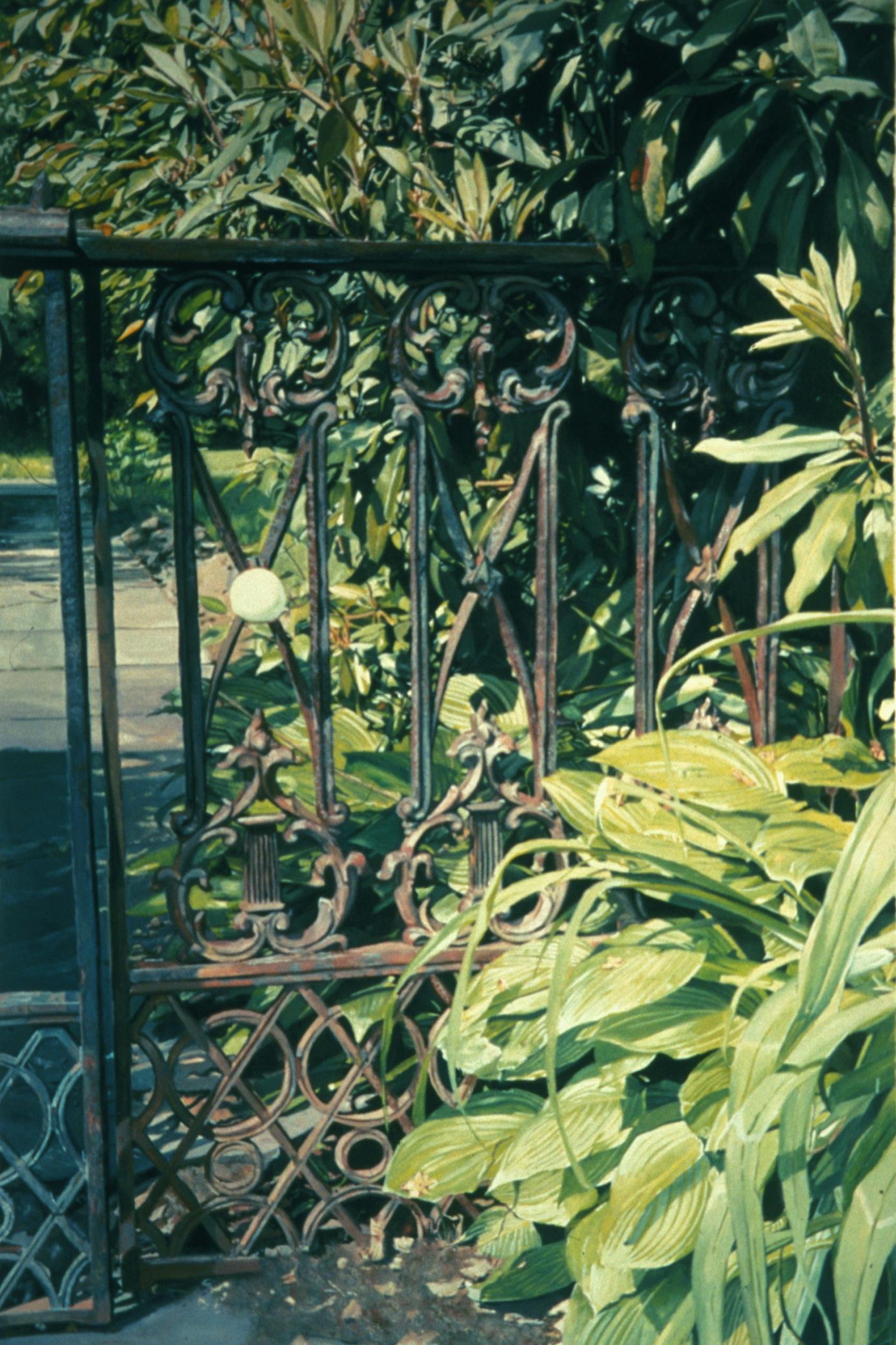 Cast Iron Fence on Pequot Road
