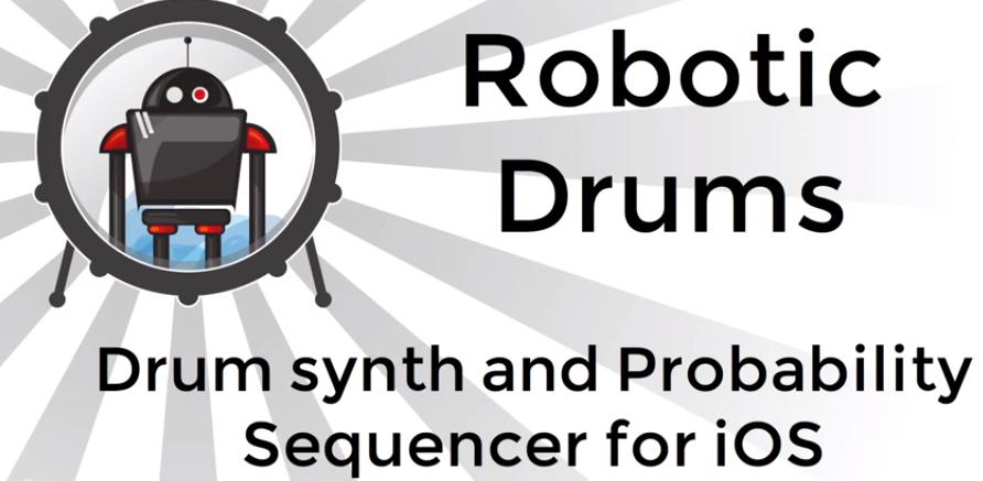 robotic drums iOS afrodjmac ableton live