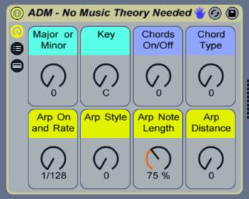 ableton no music theory rack