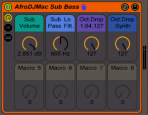 AfroDJMac Sub Bass