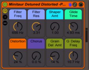 Moog Minitaur Ableton Live