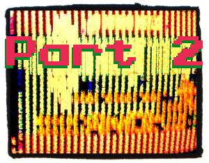 Can you guess which NES game is glitched up in this picture?