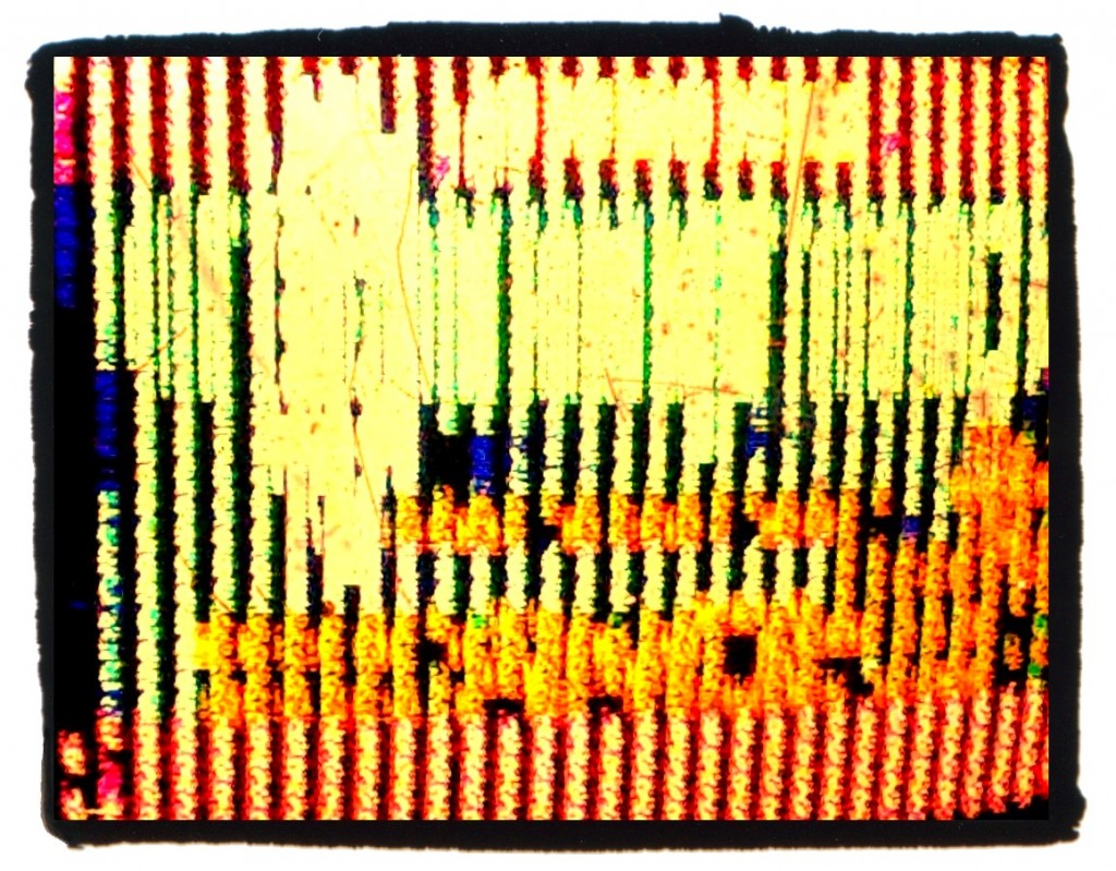Can you guess which classic NES game is glitched out in this picture?