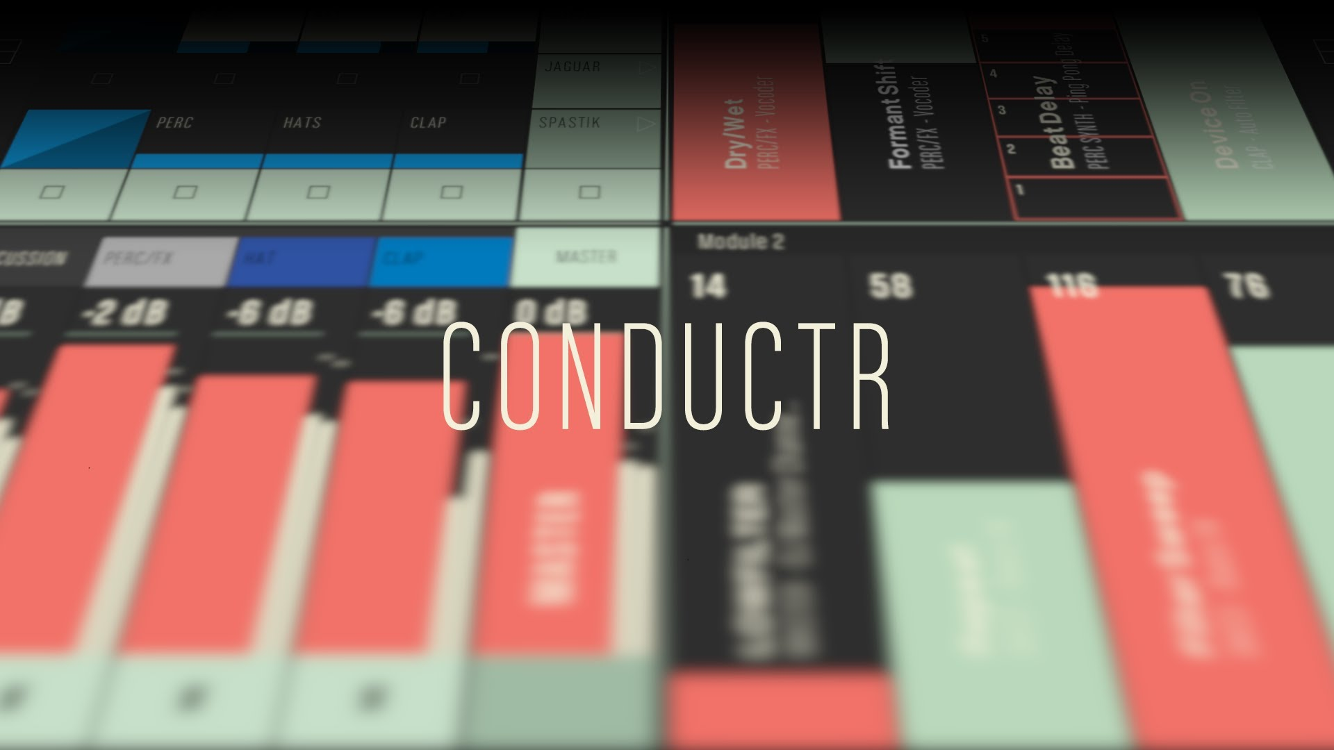 Conductr: iPad Ableton Live Controller for Live Performance