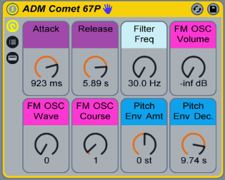 It's the future! Free Ableton Live Instrument made from the sounds of the Comet 67P!