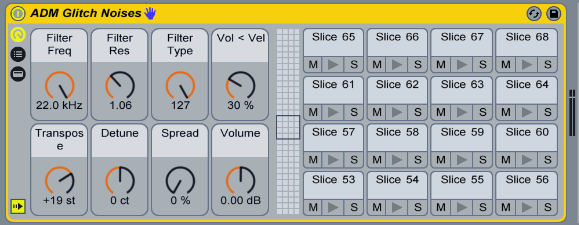 128 Glitchy Noises for Ableton Live