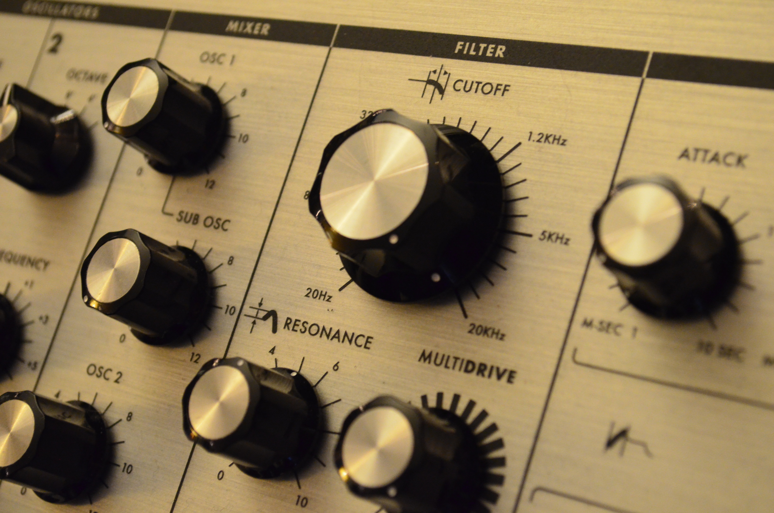 The Rich Analog Filter of the Moog Sub Phatty