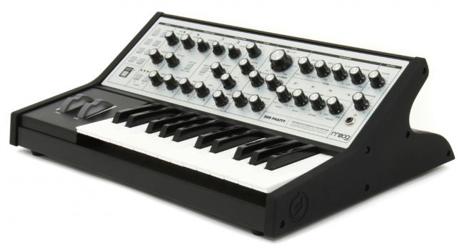 The Moog Sub Phatty Analog Bass Synthesizer, the sound source of the Ableton Live Pack