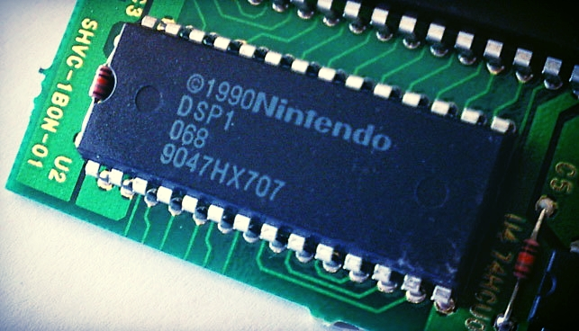 Nintendo DSP-1 Sound Chip.  Image courtesy of    GameGavel.com