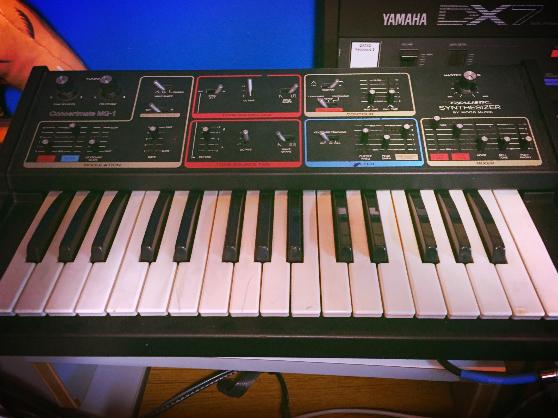The Moog Realistic Concertmate