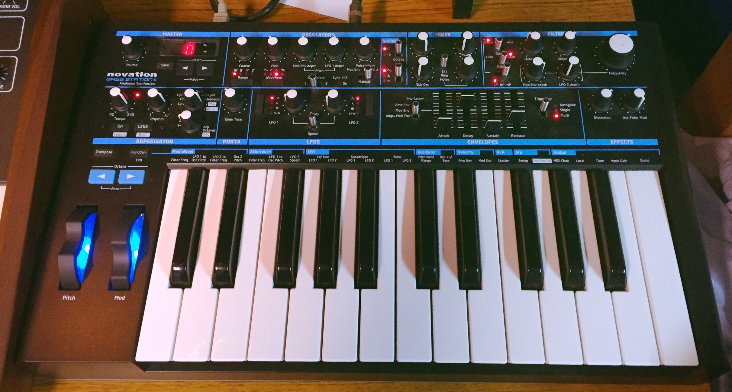 Novation Bass Statoin II