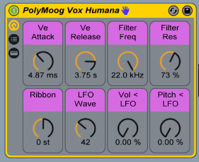 All 14 original Polymoog presets are available in the Pack.