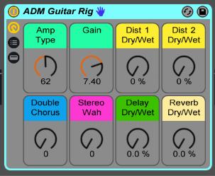 ADM Guitar Rig Audio Effect