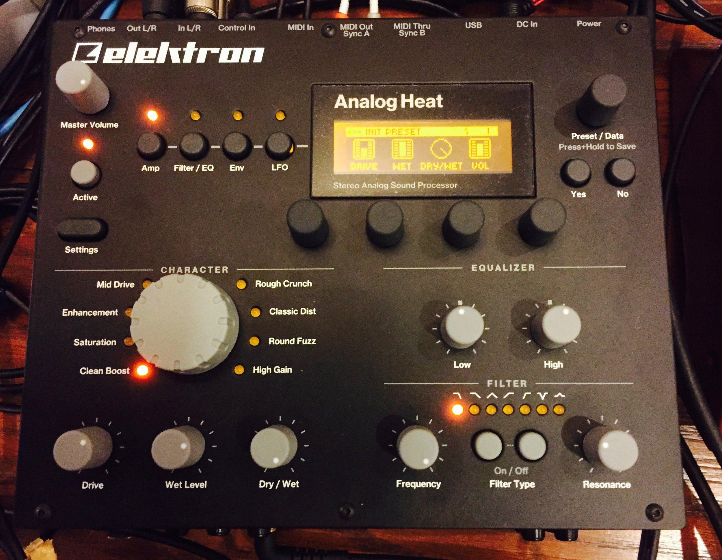 The Elektron Analog Heat Stereo Analog Sound Processor