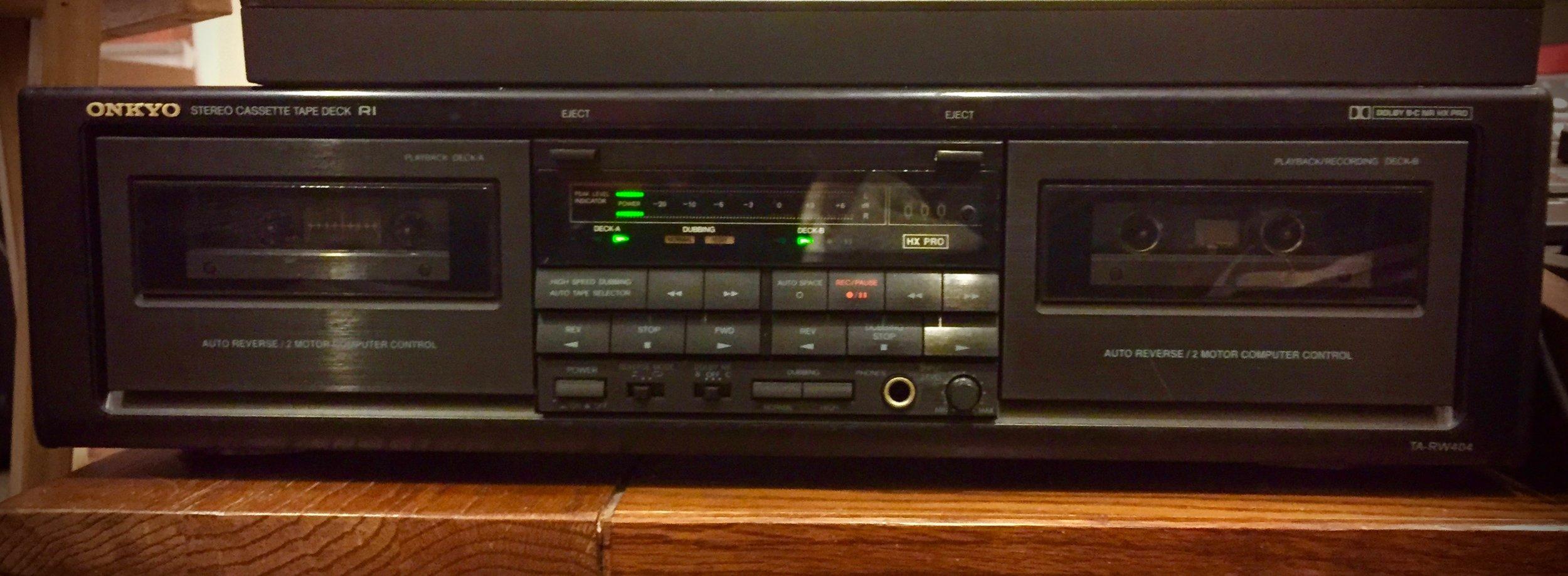 Onkyo Stereo Cassette Tape Deck