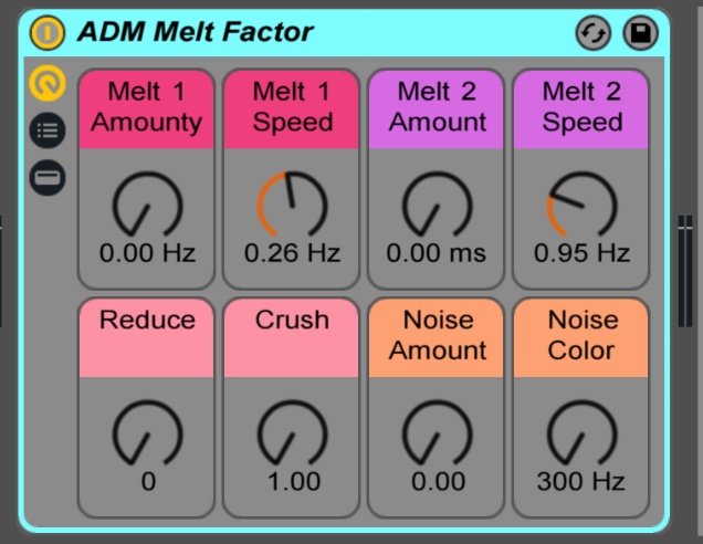ADM MELT Factor lets you melt any sound you want!