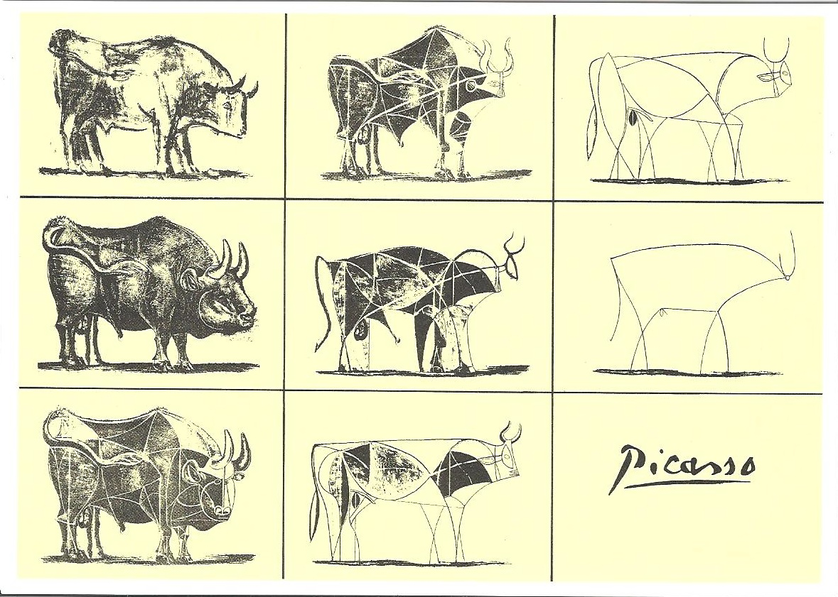 The Picasso cow we spoke about...