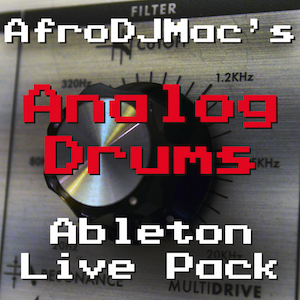 ANALOG DRUMS - Smashing classic drum machines with a classic filter.