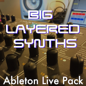 LAYERED SYNTHS - Layers of Prophet 8 sounds baked into synth cake magic.