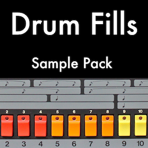 DRUM FILLS - Over 1,000 drum fills to drop directly into your tracks.