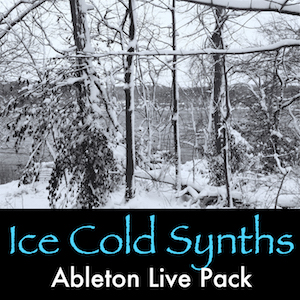 ICE COLD SYNTHS - Winter-inspired synth textures, atmospheres, and instruments.