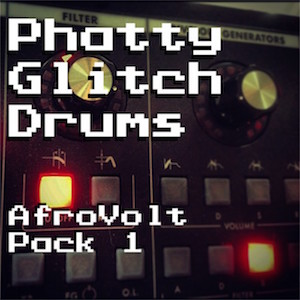 GLITCH DRUMS - Unique and unusual drums made from a Moog synth.