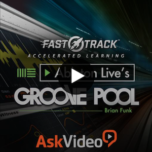 ABLETON LIVE'S GROOVE POOL - Give your music its own groove and style. Master techniques for great grooves.