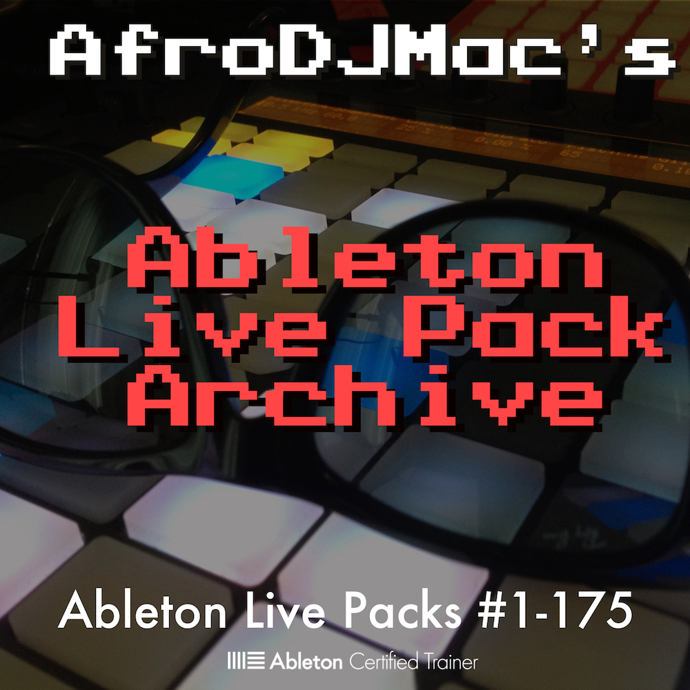 Live Pack Archive - The first 175 free Ableton Live Packs in one convenient download.