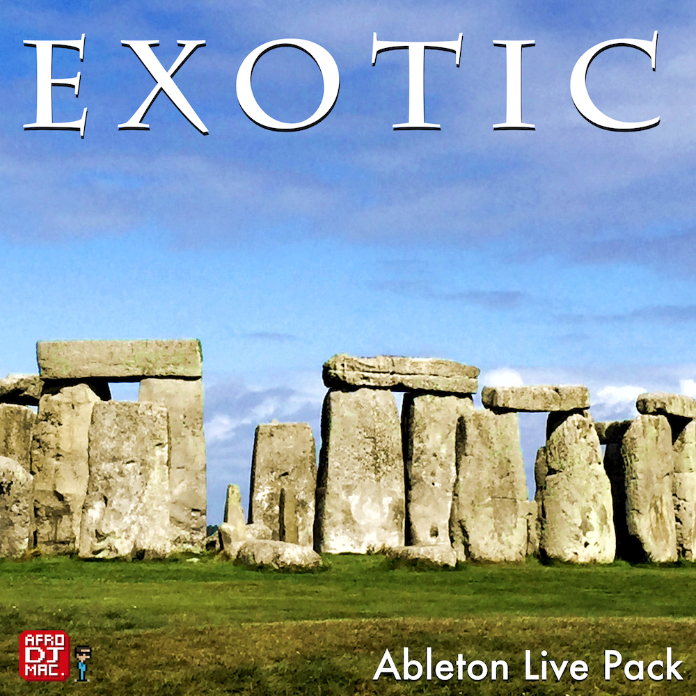 ADM EXOTIC - 116 Exotic and Mallet style instruments for Ableton Live, in a self-installing Live Pack.
