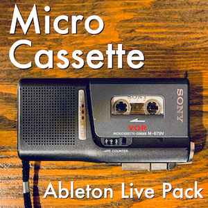 MICRO CASSETTE - Charmingly lo-fi instruments with imperfect magic.