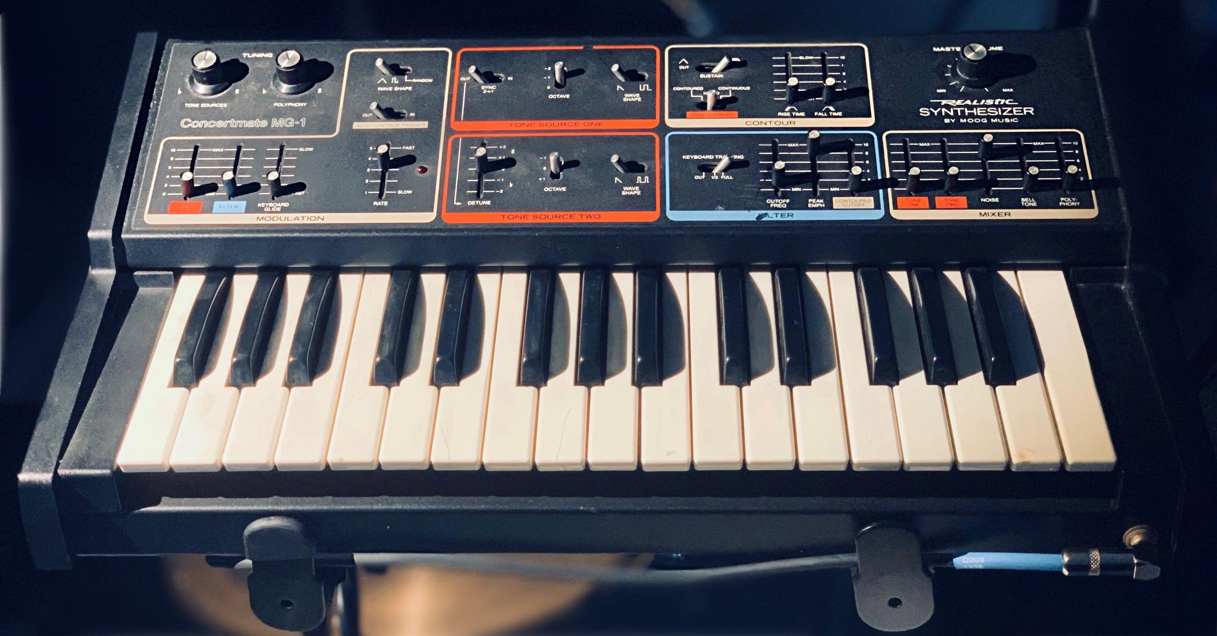 Moog MG-1 Concertmate