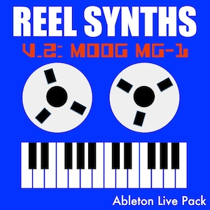 Reel Synths: Moog MG-1