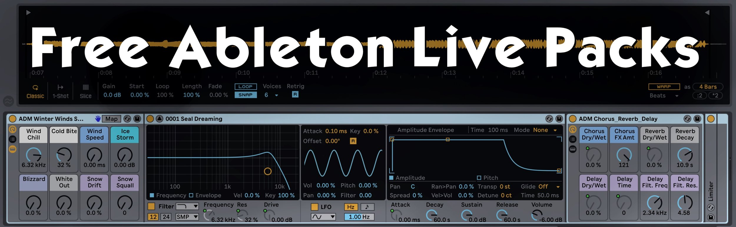 Free Ableton Live Packs — Brian Funk