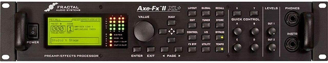The Fender Jag-Stang Was Run Through a Fender Bassman Emulation on Fractal Audio's Axe FX 2