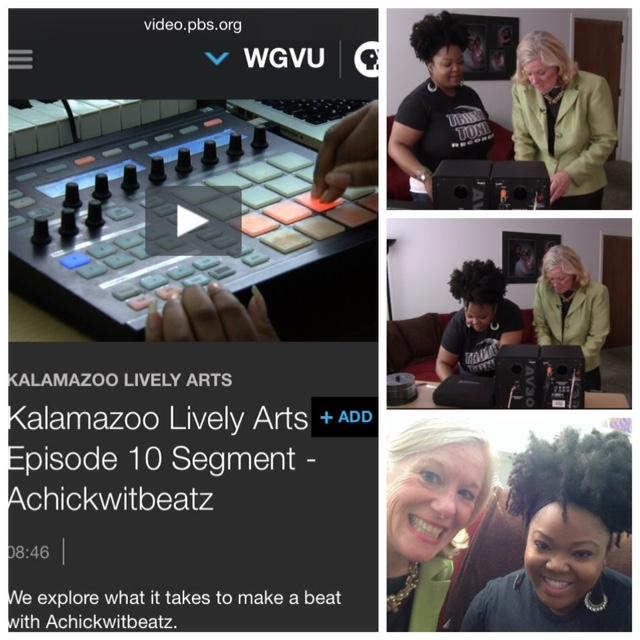 Achickwitbeatz on Kalamazoo Lively Arts   WGVU/PBS