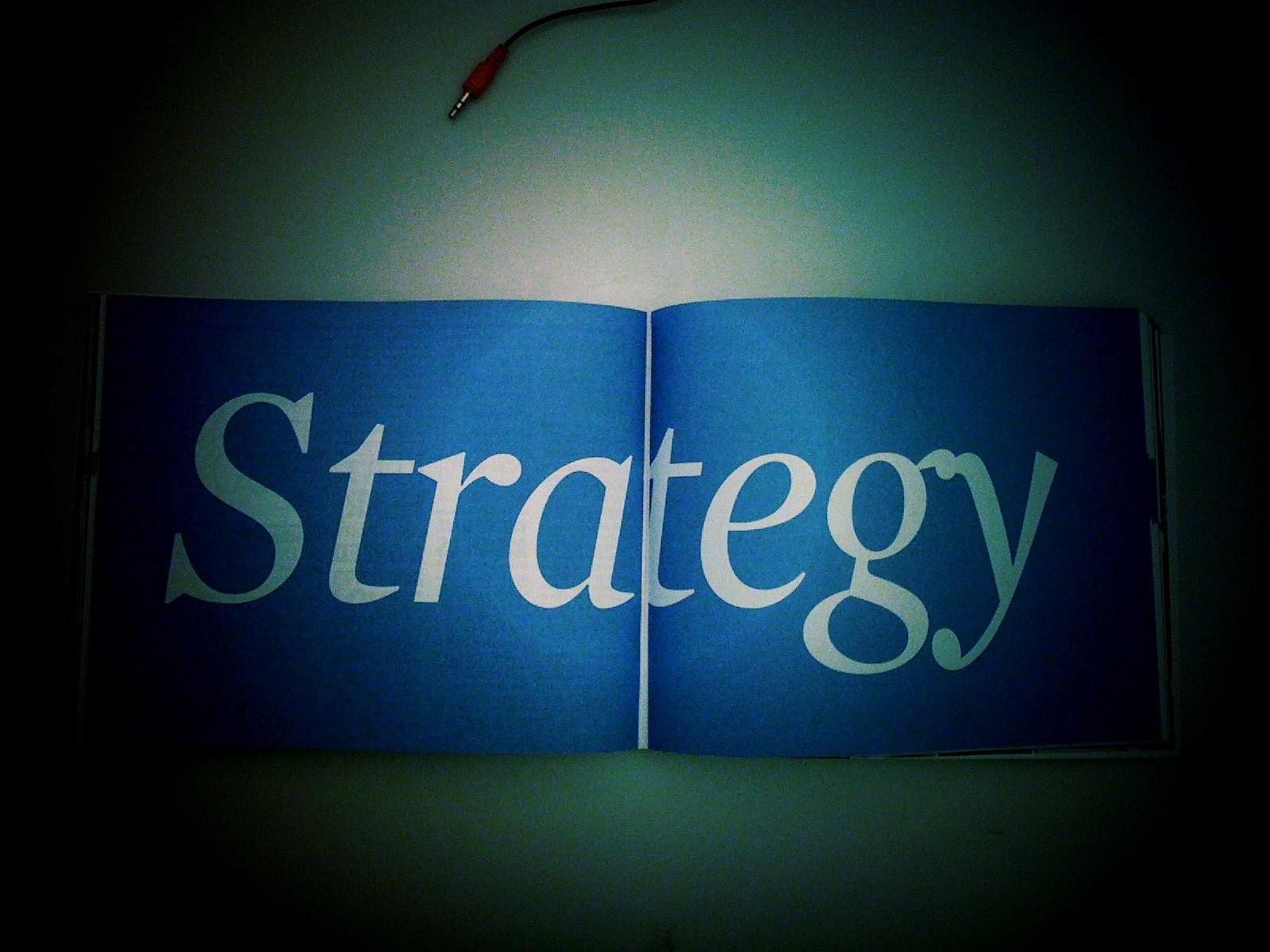 Flickr: Stefan Erschwendner Strategy