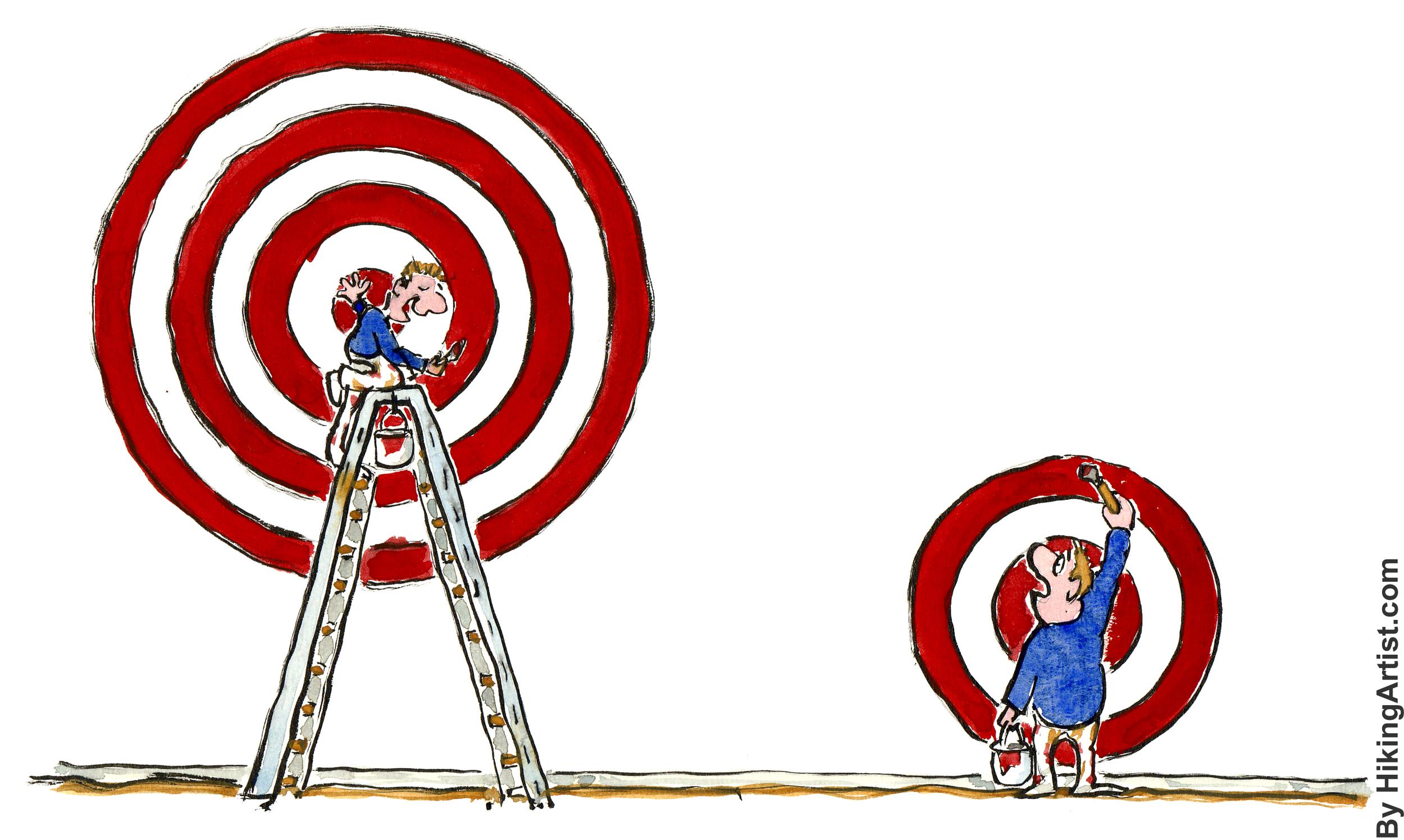 Flickr: Frits Ahlefeldt-Laurvig Defining targets differently