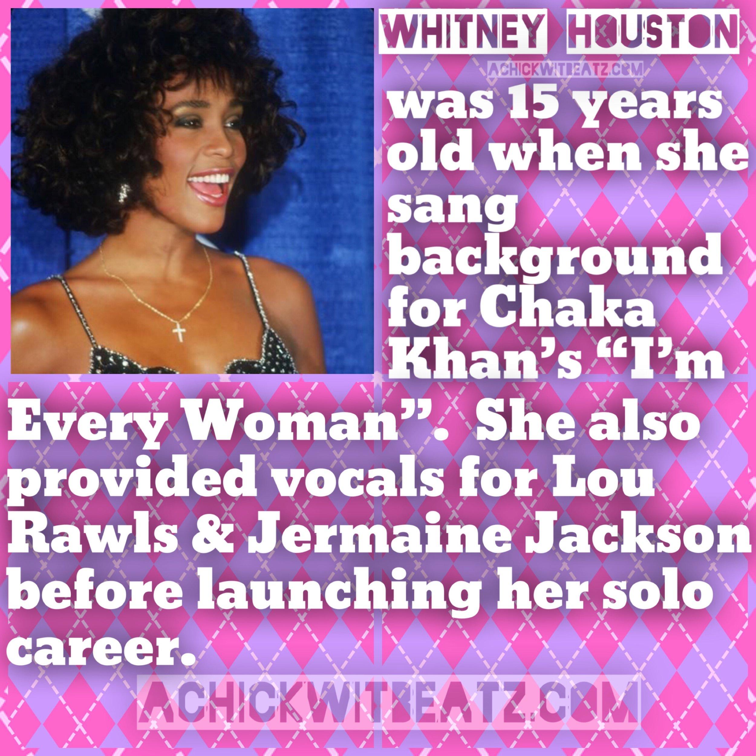 Womens Day Whitney Houston