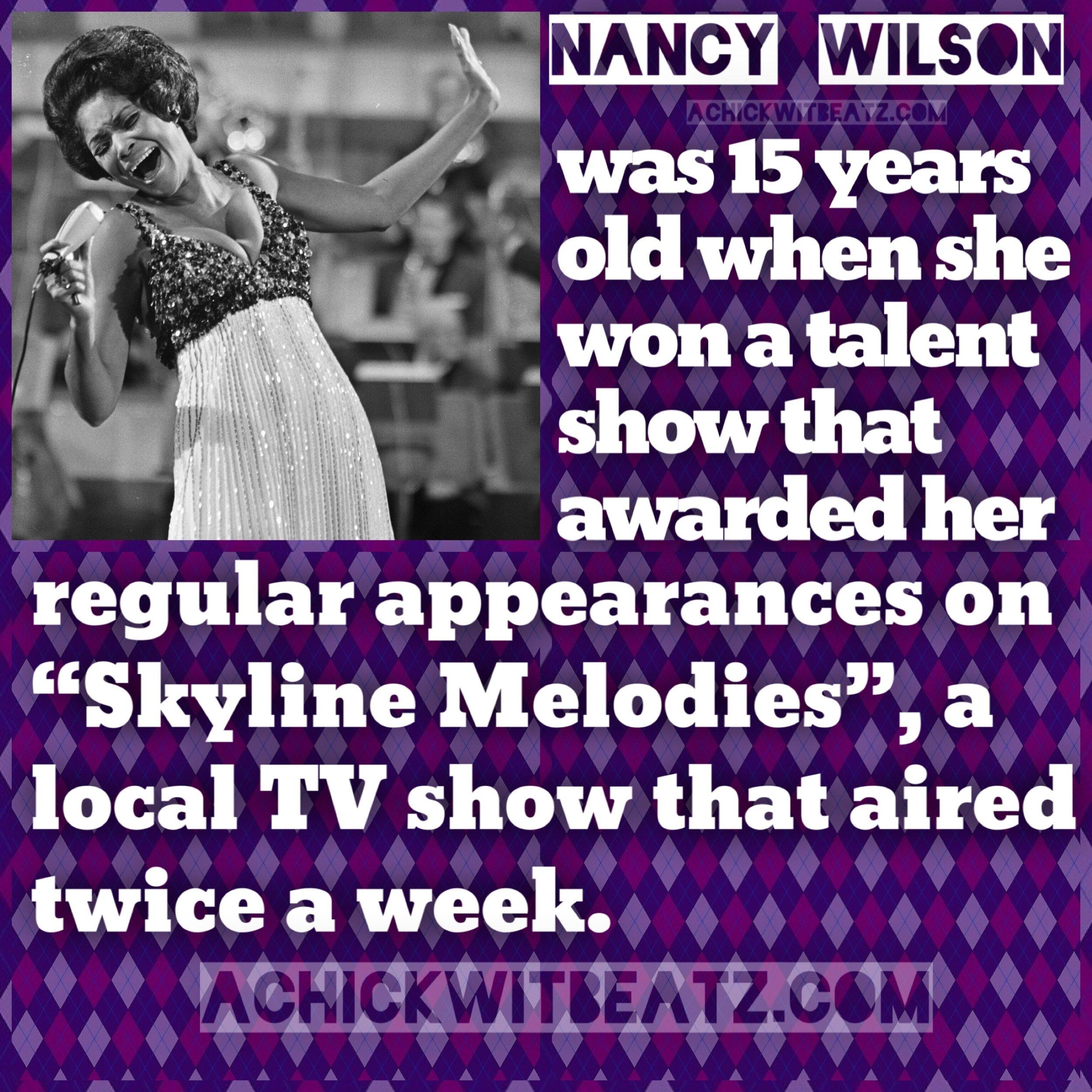 Womens History Month Nancy Wilson