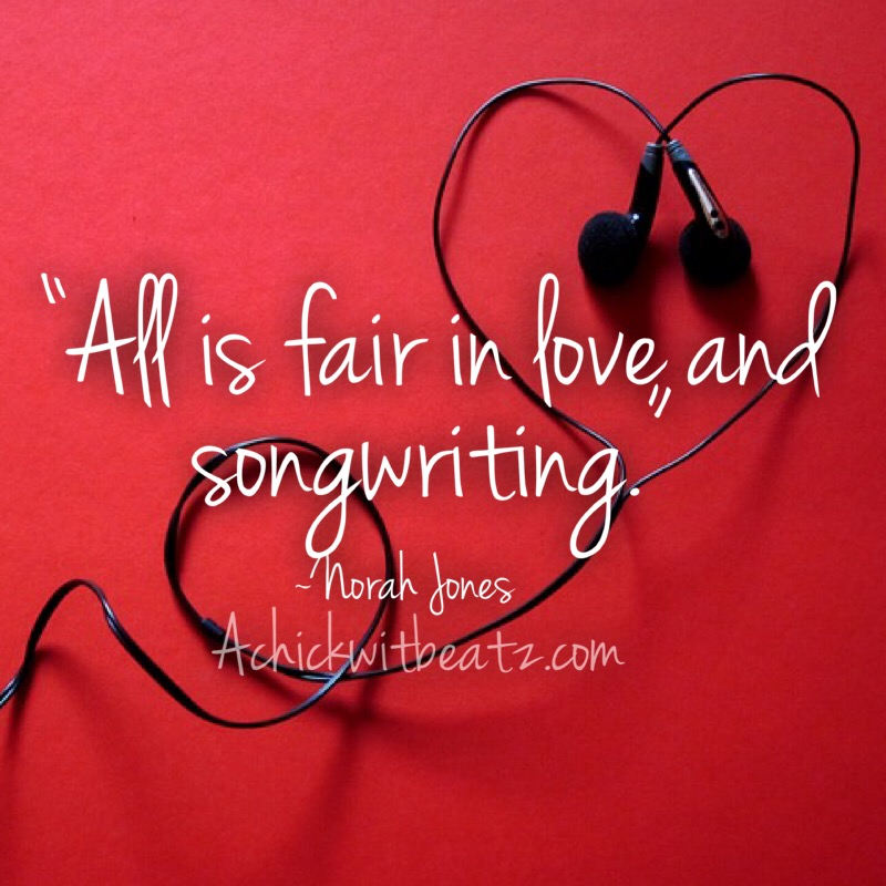 All is fair in love and songwriting