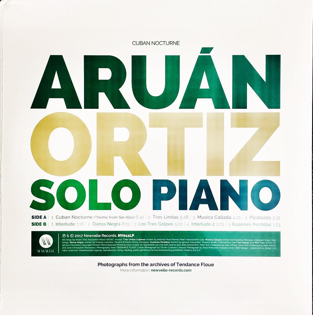 Aruán Ortiz Cuban Nocturne, 2017