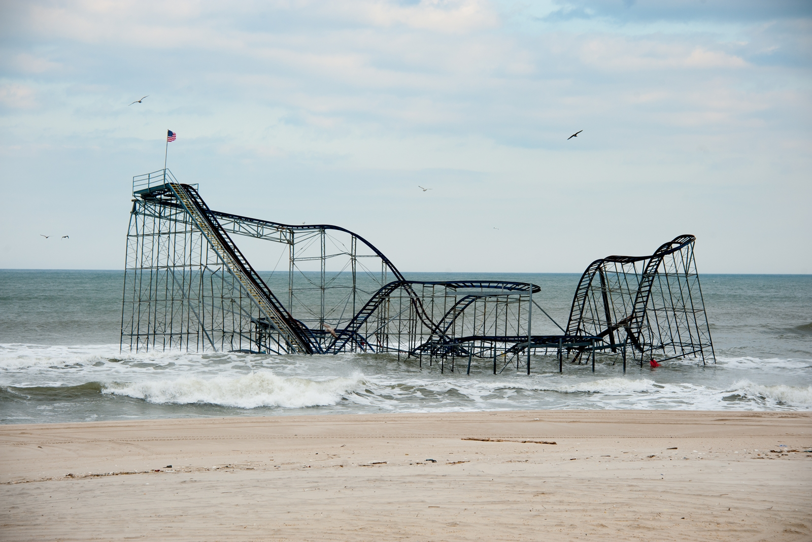 Seaside Heights Roller Coaster
