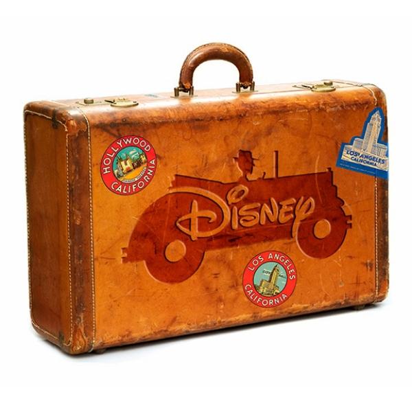 Disney Corporation // Logo Commemorating Walt Disney's Arrival in California