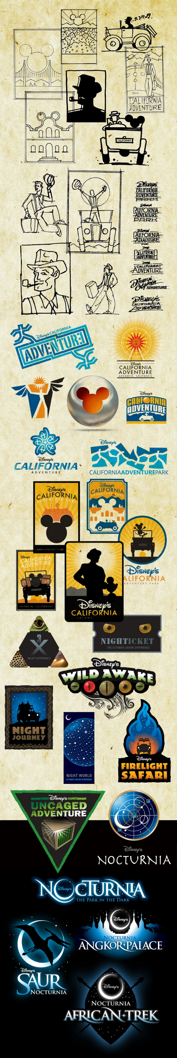 The Wide Variety of Disney Projects CLK Design has Worked On