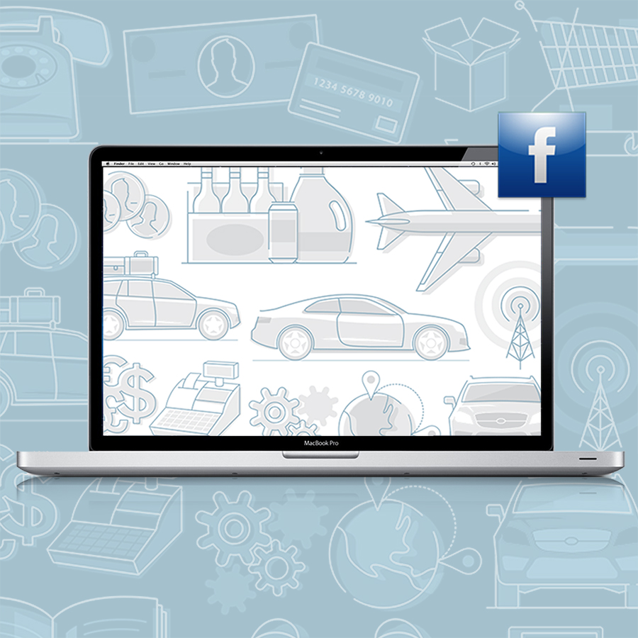 Facebook for Business // Icon Identity System